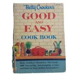VINTAGE Betty Crocker Good and Easy Cookbook 1950s